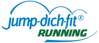 Jump dich fit Running Logo